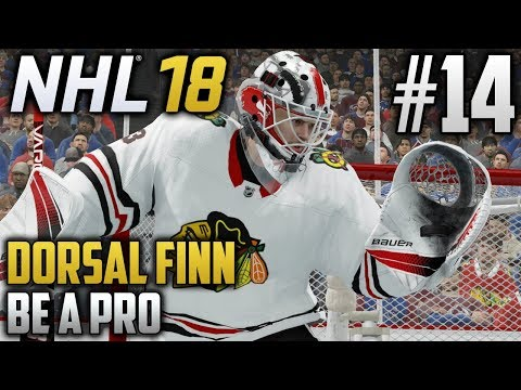 NHL 18 Be a Pro | Dorsal Finn (Goalie) | EP14 | TRYING TO STAY ALIVE (PLAYOFFS 2018)