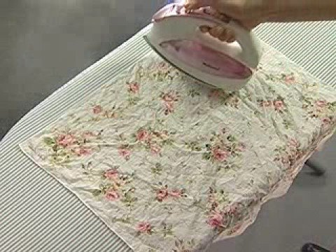 How to iron 100% cotton wear and handkerchief