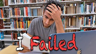 I FAILED IN COLLEGE! Felt Like JEE-Advanced