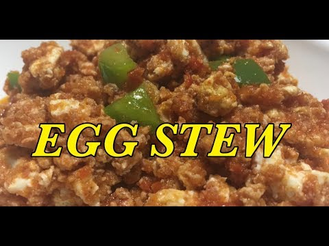 SUPER EASY EGG STEW BY NAA MOMO