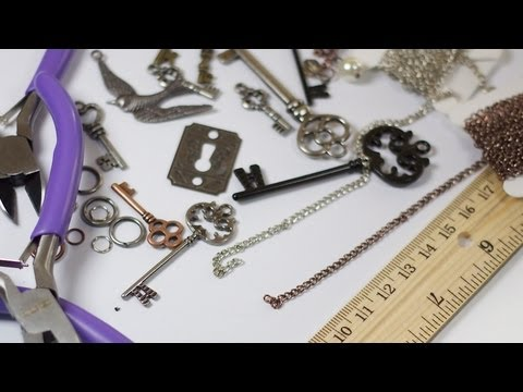 DIY Chain & Charm Necklaces
