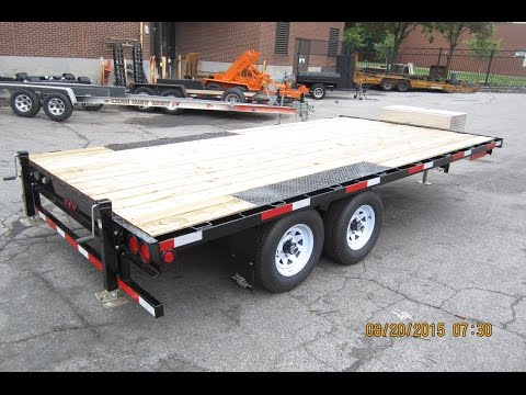 OD-2  Deck over wheels style trailer