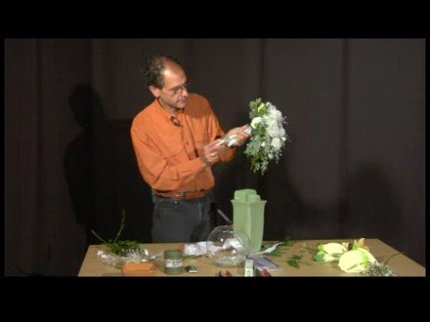 Making Silk Bridal Bouquets : Silk Bridal Bouquet Tips