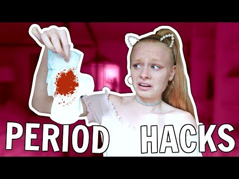PERIOD HACKS EVERY GIRL SHOULD KNOW! 😱 *omg*