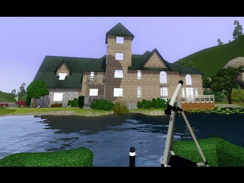 The Sims 3 - Building a Lakeside Mansion