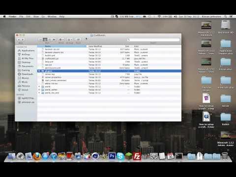 How to Install/Put Plugins on Your Craftbukkit Server Mac And Windows
