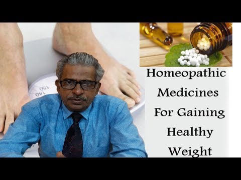 Gain Weight by Homeopathic Medicine by Dr. P.S. Tiwari