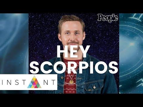 Happy Scorpio Season! | INSTANT x People | INSTANT