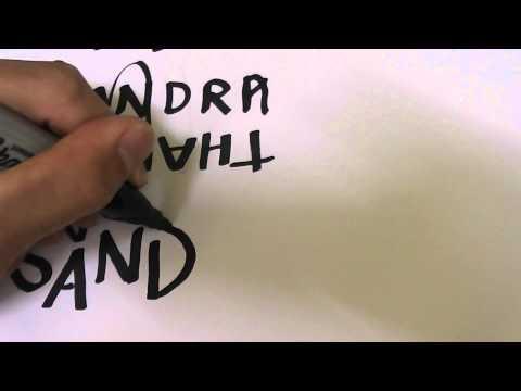 Advanced Ambigram Tutorial