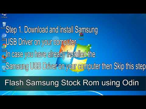How to Samsung Galaxy Y Duos GT S6102 Firmware Update (Fix ROM)