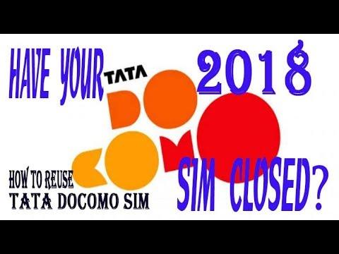 USE TATA DOCOMO SIM ON AIRTEL NETWORK 2018(DOCOMO USERS PLZ SEE THIS VIDEO FOR RE USE UR DOCOMO SIM)