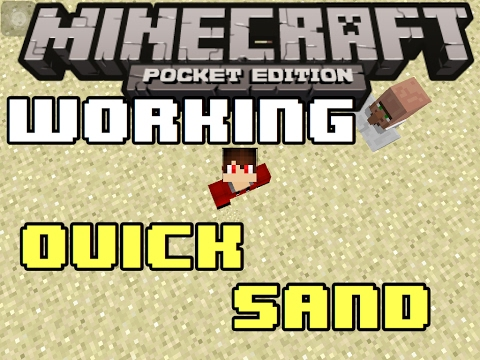 Minecraft: How to make a Working Quick Sand