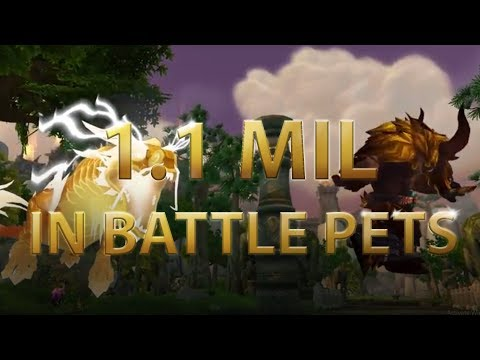 WoW Timeless Isle Gold Farm: 1.1 MIL in battle pets