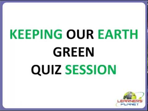 Class 4 Science Keeping Our Earth Green questions & answers