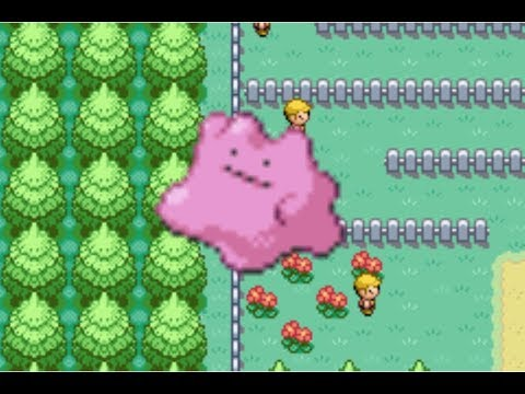 How To Get Ditto in Pokémon FireRed/LeafGreen Version
