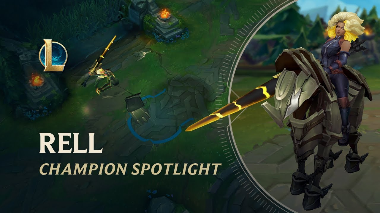 Rell Champion Spotlight | Gameplay - League of Legends
