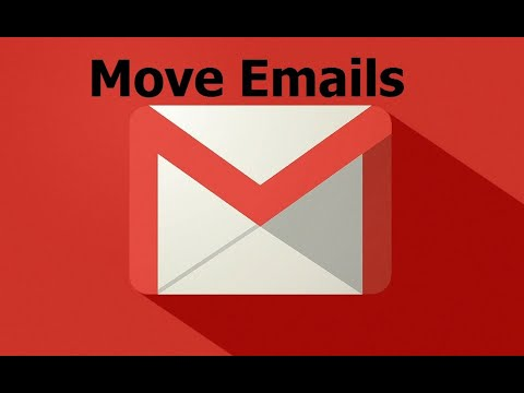Move Mail To Different Folders In Gmail