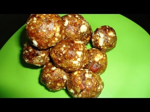 How to Make Dry Fruit Laddu .:: by Attamma TV ::.