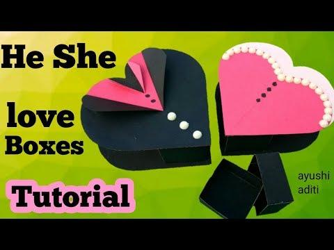 DIY Gift ideas for boyfriend | Handmade Love Box |