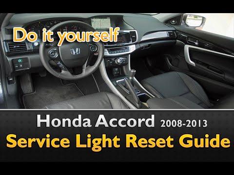 Honda Accord Service Light Oil Life Reset