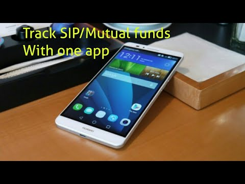 Track SIP/Mutual funds portfolio  With One App