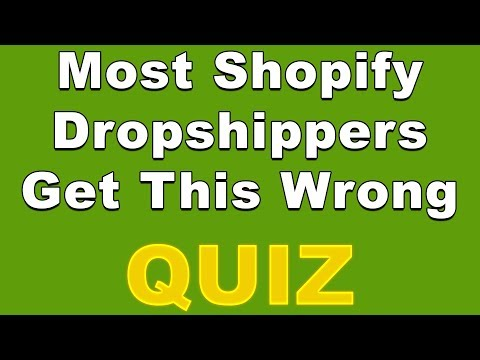 Are You Ready For Shopify Dropshipping? Take This Quiz 🤔