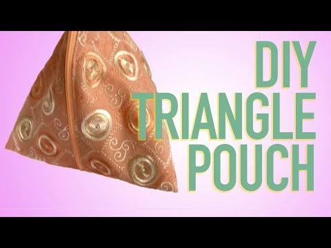 SEW TRIANGLE CLUTCH FOR PARTY