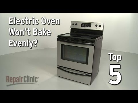 Oven Won't Bake Evenly — Electric Oven Troubleshooting