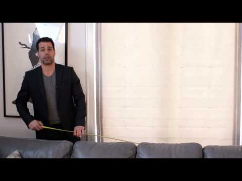 How Do I Measure a Sofa for a Slip Cover? : Couches & Living Room Design