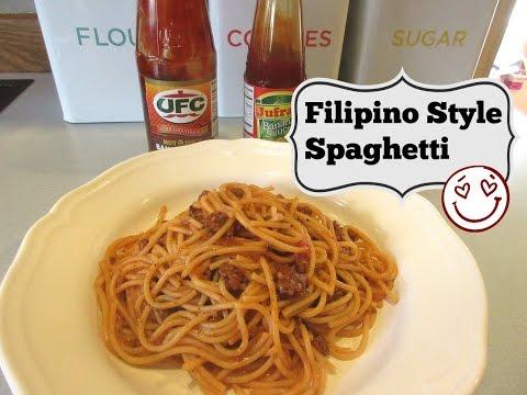 Filipino Recipe: Filipino Style Spaghetti   aSimplySimpleLife Recipes