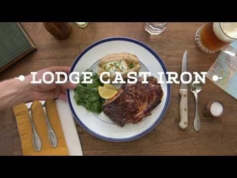 How to Cook a Steak with Lodge Cast Iron