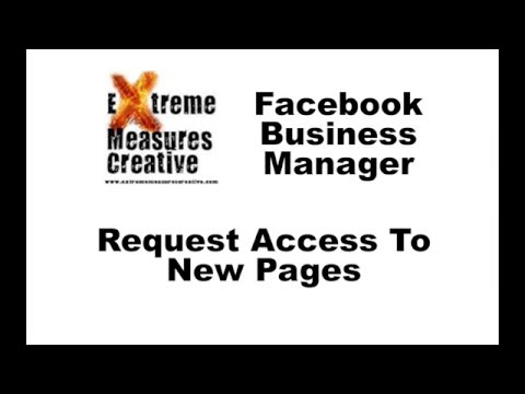 Facebook Business Manager: Request Access To Pages