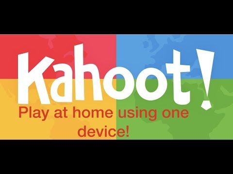 How to Play Kahoot Using Only One Device