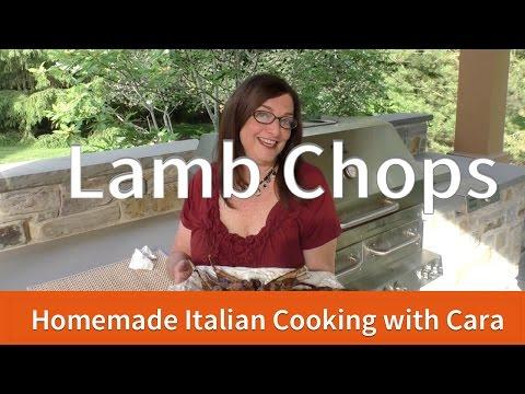 Grilled Lamb Lollipops