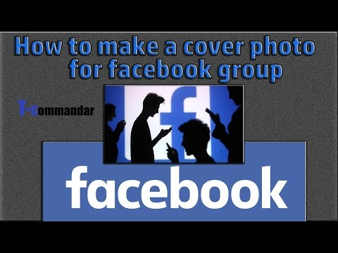 How to create cover photo for facebook group