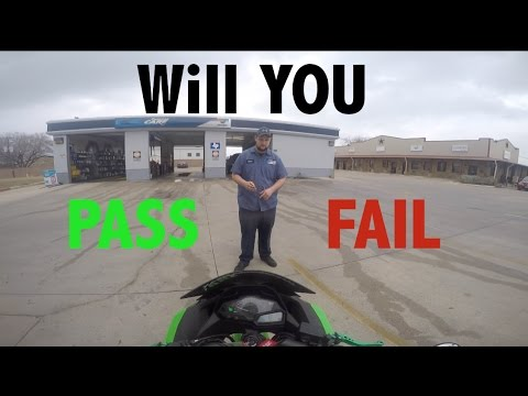 How to PASS motorcycle inspection!