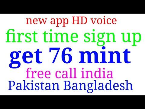 Daily 1000 minute free call anywhere world India Pakistan Bangladesh
