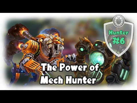 [Hearthstone] The Power of MECH HUNTER! [Constructed Gameplay]