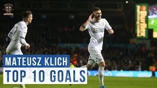 Top 10 goals: Mateusz Klich   Leeds United