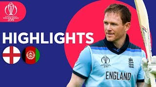 World Record For Sixes! | England vs Afghanistan - Match Highlights | ICC Cricket World Cup 2019