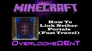 Mold Your Nether Portal - Minecraft Xbox 360/PS3 - [Tutorial