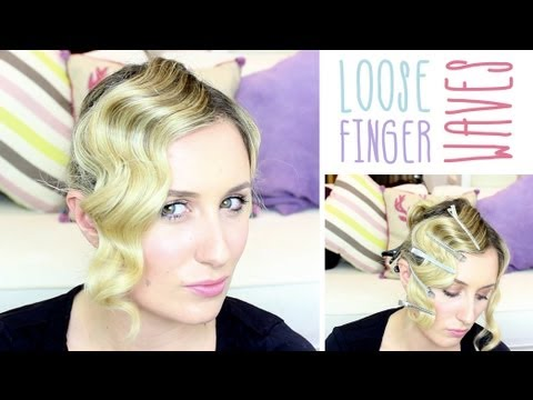 How To: Loose Finger Waves