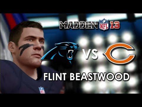 Madden 13: Carolina Panthers vs. Chicago Bears - Flint Beastwood - Career Mode Episode 8