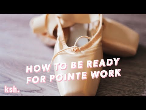 How To Be Ready for Pointe Work - Tips to Starting Pointe Sooner  •  Kisarhi En Pointe