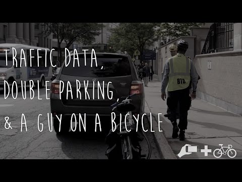 The Data of Double Parking