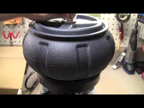 Harbor Freight : Vibrating Tumbler Unboxing, Review & Tutorial Remove Rust