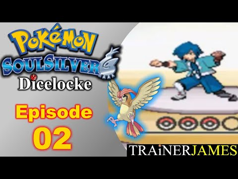 Flying High with Falkner! | Ep. 02 - Pokemon SoulSilver Dicelocke