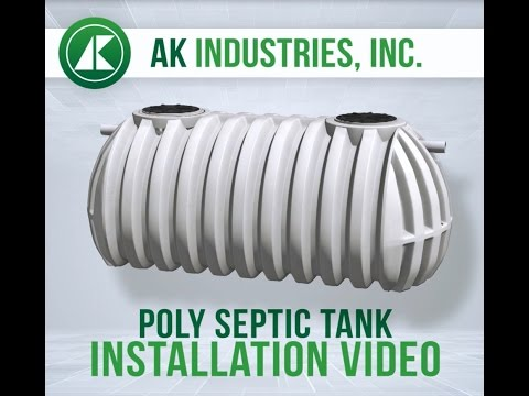 How to Install a Septic Tank