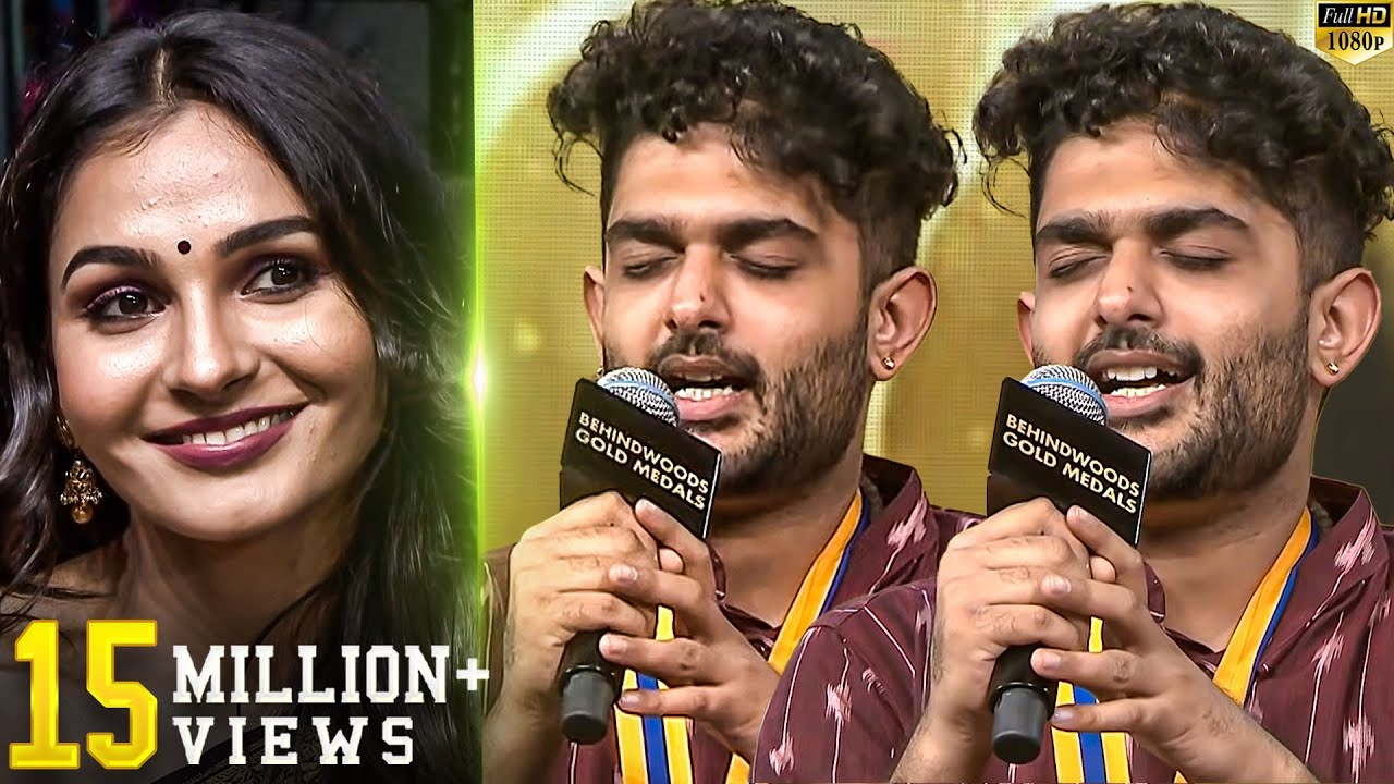 Download Sid Sriram Live Performance!! - Andrea's Reaction - You will Watch in Repeat Mode!! MP3 Gratis