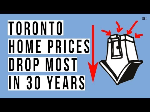 Toronto Real Estate Prices BIGGEST DROP in 30 YEARS! Interest Rates Are BANKRUPTING People!